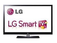 """lg 42"""" smart tv selling it for 170 price is negotiable ."""