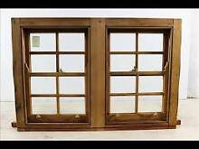 11 pairs of hardwood Double hung windows in perfect cond Gaythorne Brisbane North West Preview