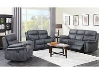 💓💓BRAND NEW PREMIUM AND LUXURY LEATHER RECLINER 3+2 SEATER FRESH IN STOCK ON 30 PERCENT SALE📢📢