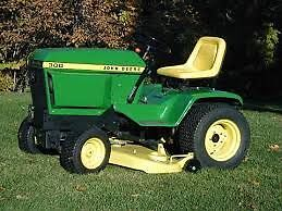 John Deere 300 Series Lawn Tractor and Attachments