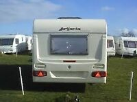 Great clean 5 berth family caravan comes all ready to go on holidays