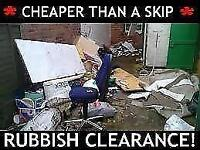 ♻️CHEAPER THAN A SKIP♻️ RUBBISH WASTE REMOVAL CLEARANCE SERVICES, HOUSE GARDEN GARAGE man n van etc