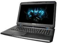 "Notebook gamer 17"" screen I7 2.4ghz 16gb ram 128gb ssd 4gb gtx780m"