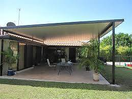 patio glass fence steel  gate brick wall&render&plaster Perth Northern Midlands Preview
