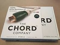 Chord Active Resolution V2, 8 metre HDMI lead