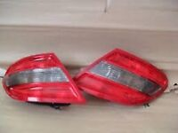 Mercedes c class w204 rear lights standard non led