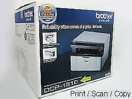 Brother DCP1510 3 in 1 Laser Print Copy Scan in black 12 Mths Wrnty Laptop PC Includes 2 New Toners