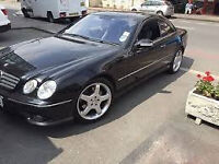 """amg alloys 19""""&18"""" fit most mercs black set and silver sets"""