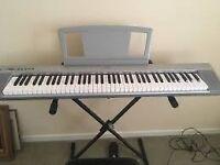 Yamaha NP30S (Silver NP30) Portable Grand Keyboard