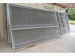 looking for chain link panels /dog run as in picture