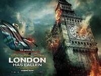 London has fallen DVD (new) £5.00