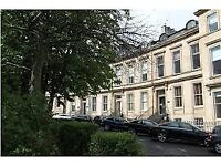 Victorian townhouse office building, centrally located in park area of Glasgow.