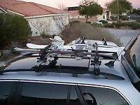VW VOLKSWAGEN ROOF RACK SKI STORAGE RACK - GENUINE BOXED FACTORY PART for VW STANDARD ROOF RACK