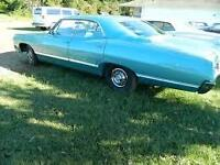 Looking for 1967 Impala 4 door Hardtop