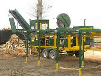 MOBILE FIREWOOD PROCESSING AT YOUR YARD FROM $10 A FACE CORD