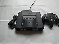 Nintendo 64 console and 4games