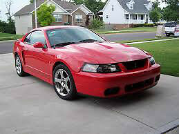 03-04 FORD MUSTANG COBRA FRONT BUMPER $299!!!!