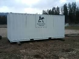 Wanted storage container-cube van-sea can