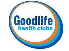 Goodlife Membership for sale. Access to ANY Goodlife club Caboolture South Caboolture Area Preview
