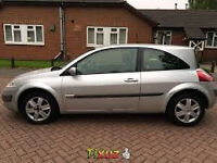2006 RENALT MEGANE 3 DOOR HATCHBACK, 1499 CC DIESEL, ��30 A YEAR TAX, LONG MOT.