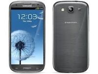 Samsung Galaxy S3 Silver (Unlocked) in good condition