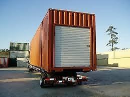 New White 6' x 7' Ocean Container Roll-up Doors