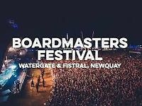 Boardmasters Tickets - Wednesday to Sunday £150 each