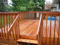 Deck and Fence PROS /Timber Framing