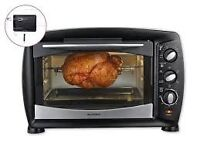 Silvercrest(R) 1,500W Electric Oven & Grill with Rotisserie