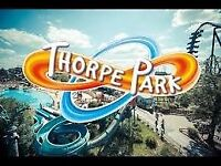 4 Thorpe Park Tickets Saturday 25th August 2018 for £35