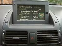 Sat Nav Toyota Avensis 2003-2009