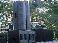 Live Sound Hire (8k PA)from £200