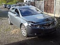 Vauxhall insignia damaged breaking dismantling spare parts