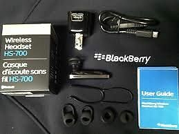 BlackBerry HS-700 Wireless Headset Oakville / Halton Region Toronto (GTA) image 3