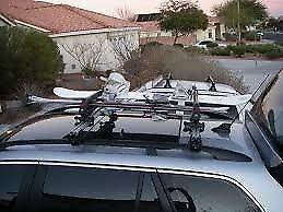V-TEX Roof Rack Ski Halter - Ski Rack - Roof bars not included - holds up to 6 pairs skis