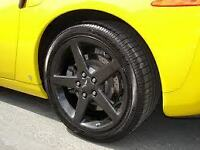 "18"" CORVETTE C6 WHEELS FITS CAMARO/CORVETTE BLACK"
