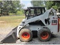 Skid steer service and garbage removal