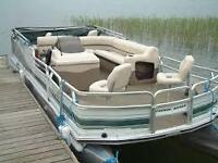 Pontoon boat Wanted! lower cost any condition!
