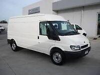 **FOR BREAKING** 2005 Ford Transit van 2.4 diesel (choice of two).