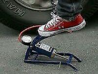 Handy Air Foot Pump with Gauge