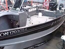 Looking for 18' aluminum boat or hull