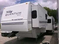 34 foot rv for rent at seasonal  site Echo park