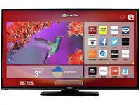 """Brand new 32""""hitachi smart tv £160,the price is negotiable."""
