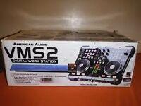 new in box american audio vms 2 dj midi controller