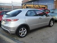 2006 HONDA CIVIC 2.2 CDTi MANUAL N22A1/A2 GOLD/SILVER BREAKING FOR SPARES & PARTS