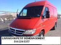 Livraison/Petit Demenagement moins cher à Laval/ Rive-Nord