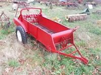 Trailer (used to be old manure spreader)