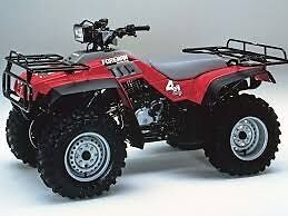 WANTED OLDER HONDA FOUR-WHEELER IN MINT CONDITION