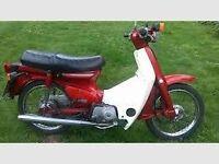 WANTED - HONDA C90 or similar......