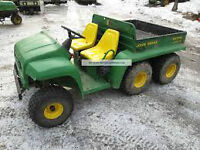 Wanted old John Deere Gator for parts